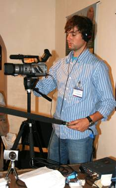 Adam Giacinto, our phenomenal videographer and indispensible assistant