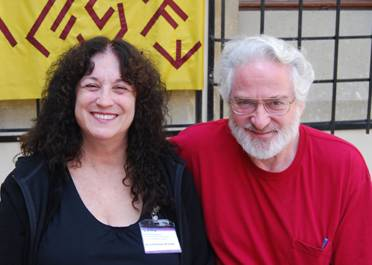 Miriam Robbins Dexter and Greg Dexter (our hardworking staff photographer)